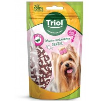 Triol Мини-косточки Dental из утки для собак 50г