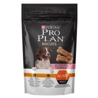 Pro Plan Biscuits с лососем и рисом 400г