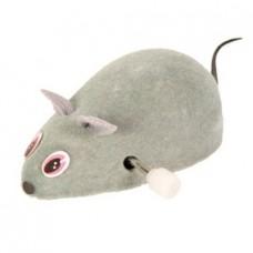 TRIXIE Игрушка для кошки в виде заводной мыши, войлок,7 см АРТ. 4092