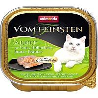Animonda Vom Feinsten Adult с индейкой, курицей и травами 100г