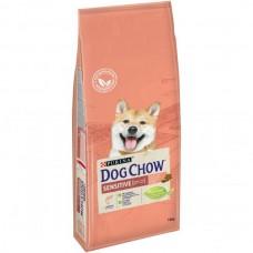 Dog Chow Adult Sensitive с лососем