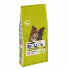 Dog Chow Adult Сухой корм с ягненком и рисом