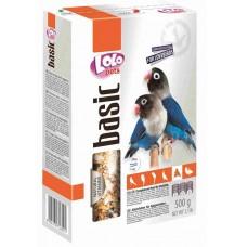 Lolo Pets Lovebirds Полнорационный корм для неразлучников 500г
