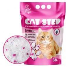Cat Step Crystal Pink Наполнитель силикагелевый 3,8л
